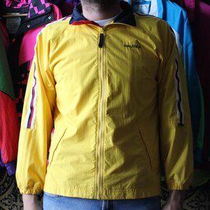 Yellow Vintage Nautica Lil Boat Windbreaker Jacket